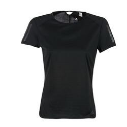 textil Dame T-shirts m. korte ærmer adidas Performance RS SS TEE W Sort
