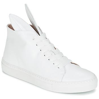Sko Dame Høje sneakers Minna Parikka BUNNY SNEAKS Hvid