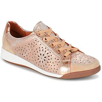 Sko Dame Lave sneakers Ara ZIMELLE Pink / Metal