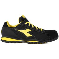 Sko Herre Lave sneakers Diadora UTILITY GLOVE II TEXTILE S1P Nero