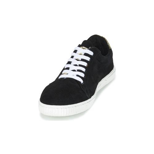 Chipie JERBY Sort / Gylden - Gratis fragt- Sko Lave sneakers Dame 311,00