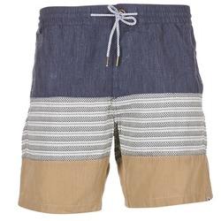 textil Herre Shorts Volcom THREEZY JAMMER Marineblå / BEIGE / Grå