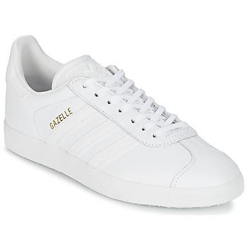 Sko Lave sneakers adidas Originals GAZELLE Hvid