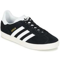 Sko Børn Lave sneakers adidas Originals GAZELLE J Sort
