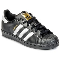 Sko Dreng Lave sneakers adidas Originals SUPERSTAR Sort