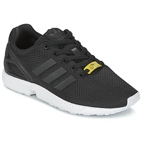 Sko Dreng Lave sneakers adidas Originals ZX FLUX J Sort