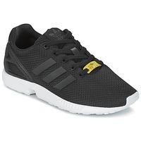 Sko Børn Lave sneakers adidas Originals ZX FLUX J Sort