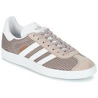 Sko Dame Lave sneakers adidas Originals GAZELLE W Grå