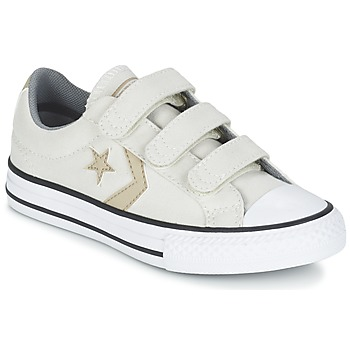 Sko Dreng Lave sneakers Converse STAR PLAYER 3V TEXTILE OX Beige / Kaki
