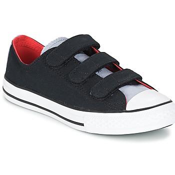 Sko Dreng Lave sneakers Converse CHUCK TAYLOR ALL STAR 3V SPRING FUNDAMENTALS OX Sort / Blå / Hvid