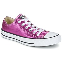Sko Dame Lave sneakers Converse CHUCK TAYLOR ALL STAR SEASONAL METALLICS OX Pink / Metal