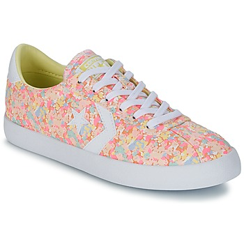 Sko Dame Lave sneakers Converse BREAKPOINT FLORAL TEXTILE OX Pink / Hvid