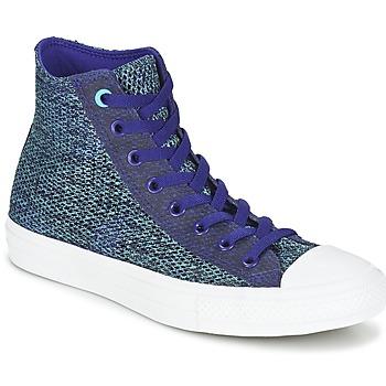 Sko Herre Høje sneakers Converse CHUCK TAYLOR ALL STAR II OPEN KNIT HI Blå