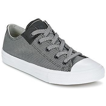 Sko Børn Lave sneakers Converse CHUCK TAYLOR ALL STAR II BASKETWEAVE FUSE TD OX Grå / Hvid