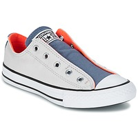Sko Børn Lave sneakers Converse CHUCK TAYLOR ALL STAR SLIP SUMMER FUNDAMENTALS SLIP Grå / Blå / Orange