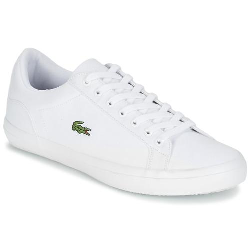 Sko Herre Lave sneakers Lacoste LEROND BL 2 Hvid
