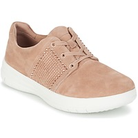 Sko Dame Lave sneakers FitFlop SPORTY-POP X CRYSTAL Pink