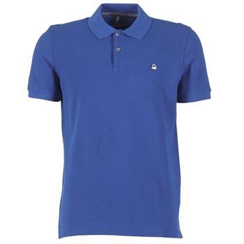 textil Herre Polo-t-shirts m. korte ærmer Benetton FOBIKA Blå