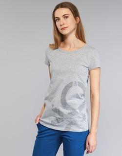 textil Dame T-shirts m. korte ærmer Benetton MADOUL Grå