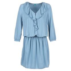 textil Dame Korte kjoler Benetton AFIDOUL Blå