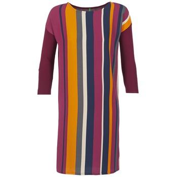textil Dame Korte kjoler Benetton VAGODA Bordeaux / Flerfarvet