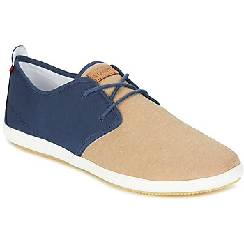 Sko Herre Lave sneakers Lafeyt MARTE SUMMER CHAMBRAY Marineblå / BEIGE