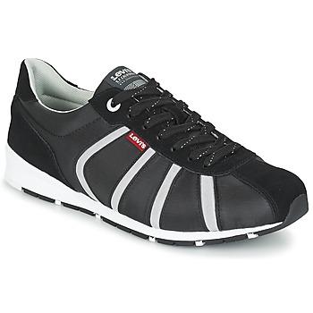 Sko Herre Lave sneakers Levi's ALMAYER II Sort / Hvid