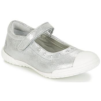 Sko Pige Ballerinaer Mod'8 PRISCA Sølv