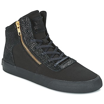 Sko Dame Høje sneakers Supra WOMENS CUTTLER Sort