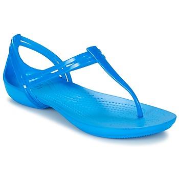 Sko Dame Sandaler Crocs CROCS ISABELLA T-strap Blå