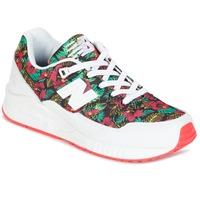 Sko Dame Lave sneakers New Balance W530 Grøn / Rød
