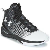 Sko Herre Basketstøvler Under Armour UA ClutchFit Drive 3 Sort / Hvid