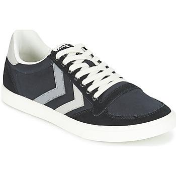 Sko Lave sneakers Hummel TEN STAR DUO CANVAS LOW Sort / Grå