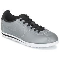 Sko Dreng Lave sneakers Nike CORTEZ PREMIUM JUNIOR Grå