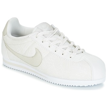 Sko Pige Lave sneakers Nike CORTEZ LEATHER SE JUNIOR BEIGE