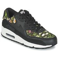Sko Dame Lave sneakers Nike AIR MAX 90 SE W Sort