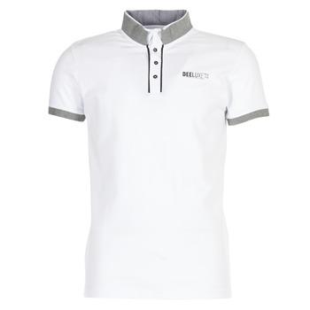 textil Herre Polo-t-shirts m. korte ærmer Deeluxe SQUART Hvid