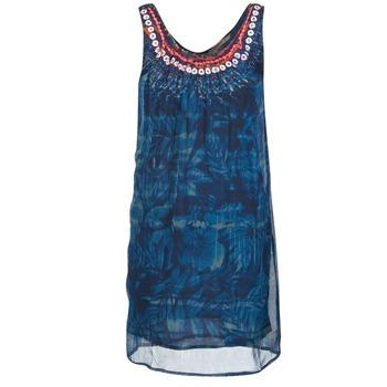 textil Dame Korte kjoler Desigual LIORISE Blå