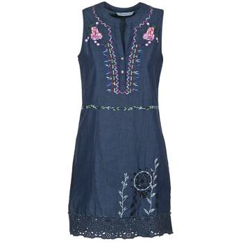 textil Dame Korte kjoler Desigual LIRASE Blå