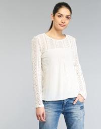 textil Dame Toppe / Bluser Desigual GERZA Hvid
