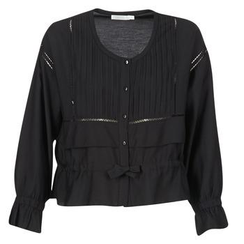 textil Dame Toppe / Bluser See U Soon 7113001 Sort