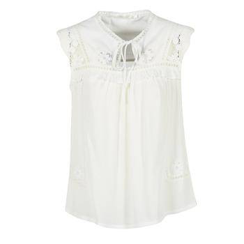 textil Dame Toppe / Bluser See U Soon 7116203 Hvid