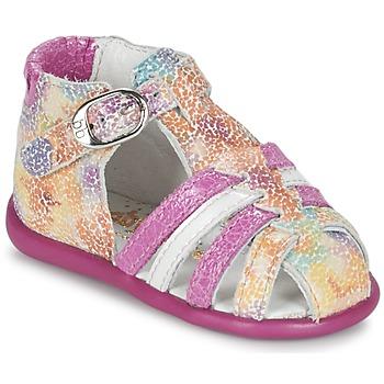 Sko Pige Sandaler Babybotte GUPPY Pink / Flerfarvet