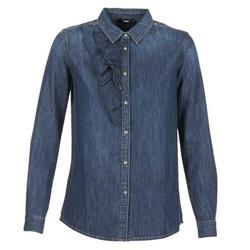 textil Dame Skjorter / Skjortebluser Diesel DE KELLY Blå