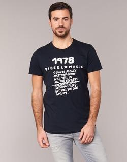 textil Herre T-shirts m. korte ærmer Diesel T DIEGO NB Sort