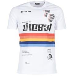 textil Herre T-shirts m. korte ærmer Diesel T JOE OB Hvid