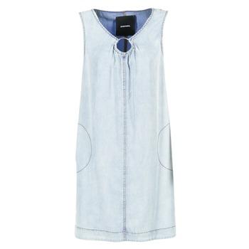 textil Dame Korte kjoler Diesel DE ISBEC Blå