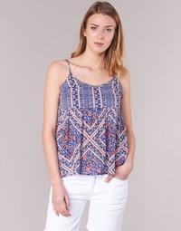 textil Dame Toppe / Bluser Pepe jeans MERY Blå / Pink