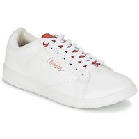 Sko Dame Lave sneakers Le Temps des Cerises SACHA Hvid