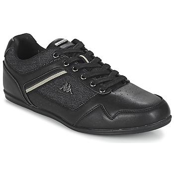 Sko Herre Lave sneakers Kappa BRIDGMANI Sort